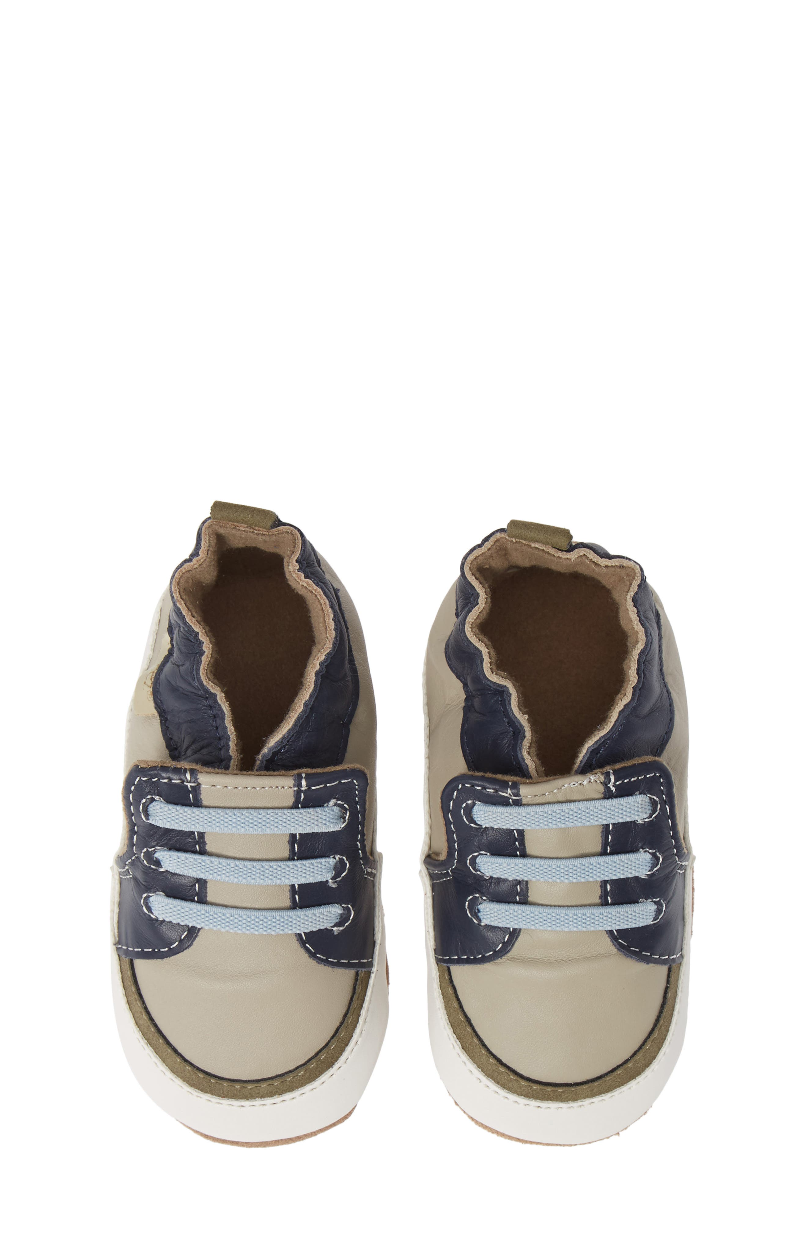 ,                             Arthur Trendy Trainer Crib Shoe,                             Alternate thumbnail 5, color,                             GREY