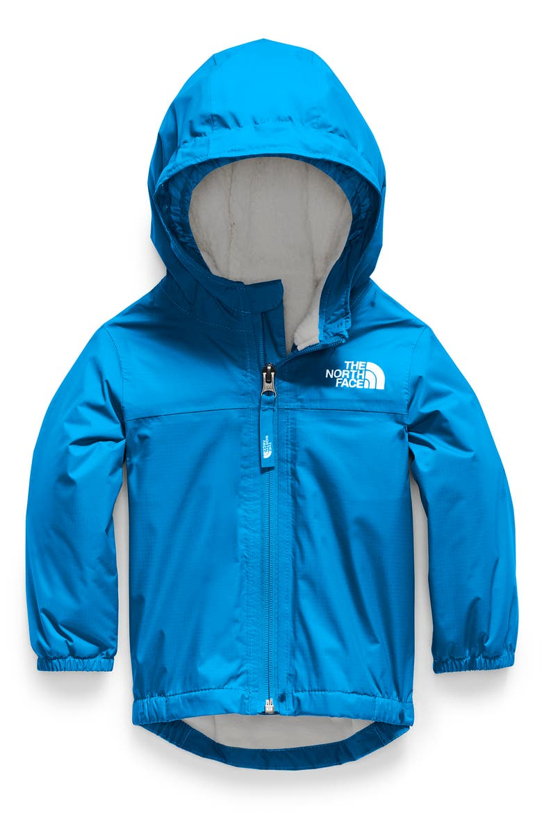 THE NORTH FACE Warm Storm Waterproof Hooded Jacket, Main, color, CLEAR LAKE BLUE
