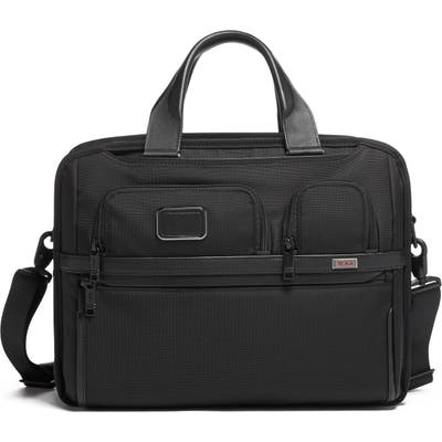 Tumi Alpha 3 Collection T-Pass Briefcase - Black