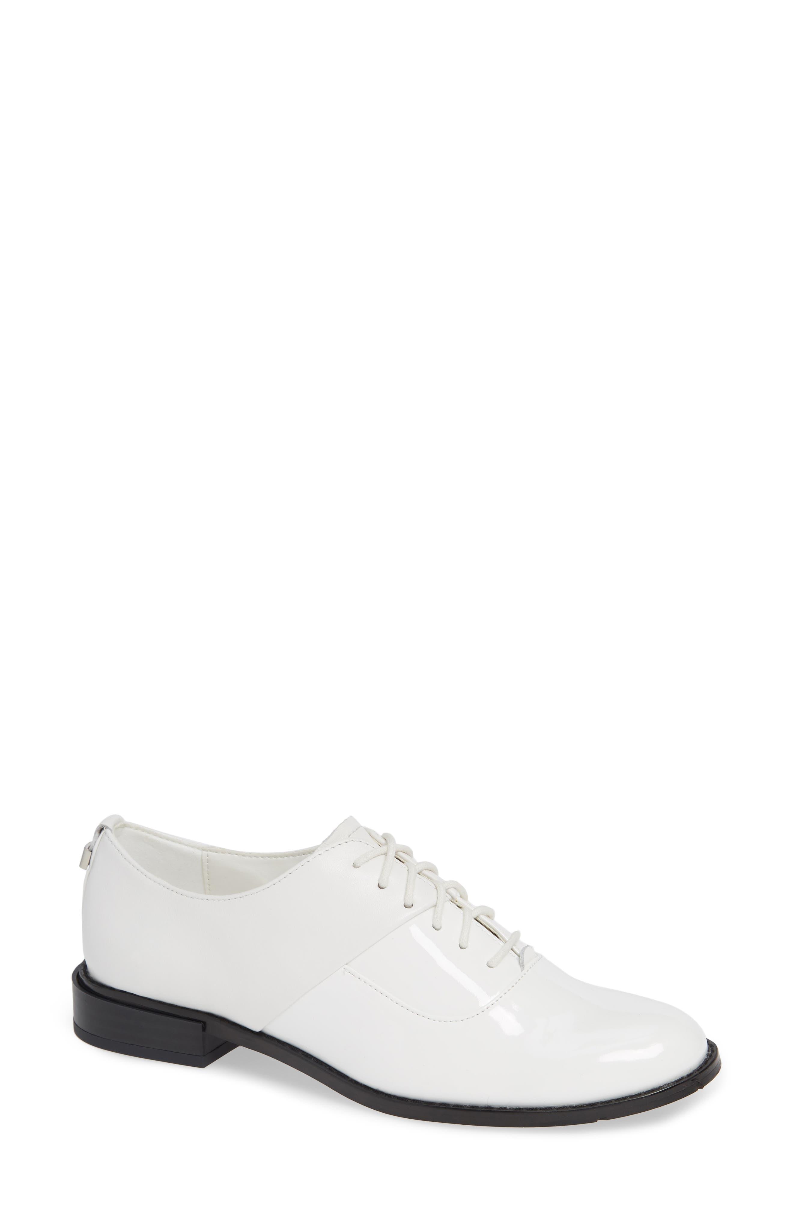 Aracely Oxford, Main, color, PLATINUM WHITE PATENT