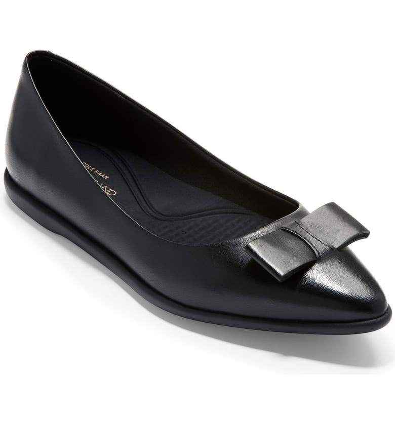 COLE HAAN 3.ZeroGrand Skimmer Flat, Main, color, 001