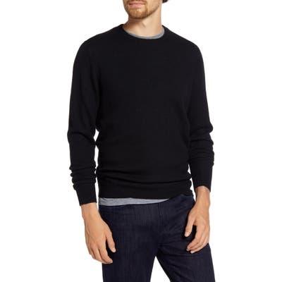 1901 Regular Fit Wool & Cashmere Sweater, Black