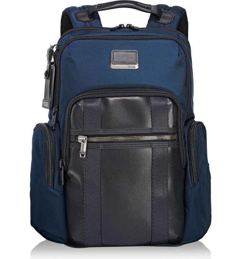 TUMI Alpha Bravo - Nellis Backpack, Main, color, NAVY