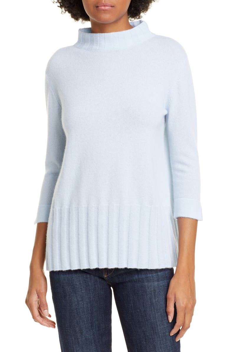 KINROSS Funnel Neck Cashmere Sweater, Main, color, 493