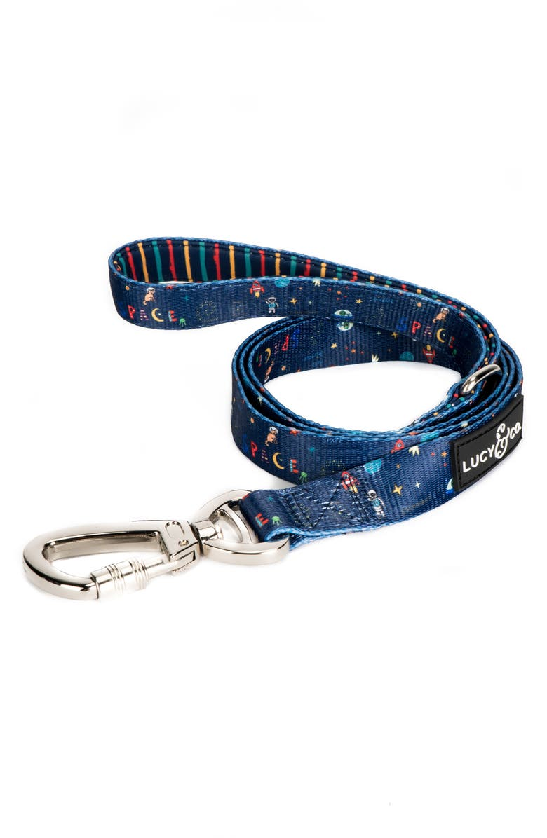 LUCY AND CO Lucy & Co. The Space Doodle Leash, Main, color, SPACE DOODLE