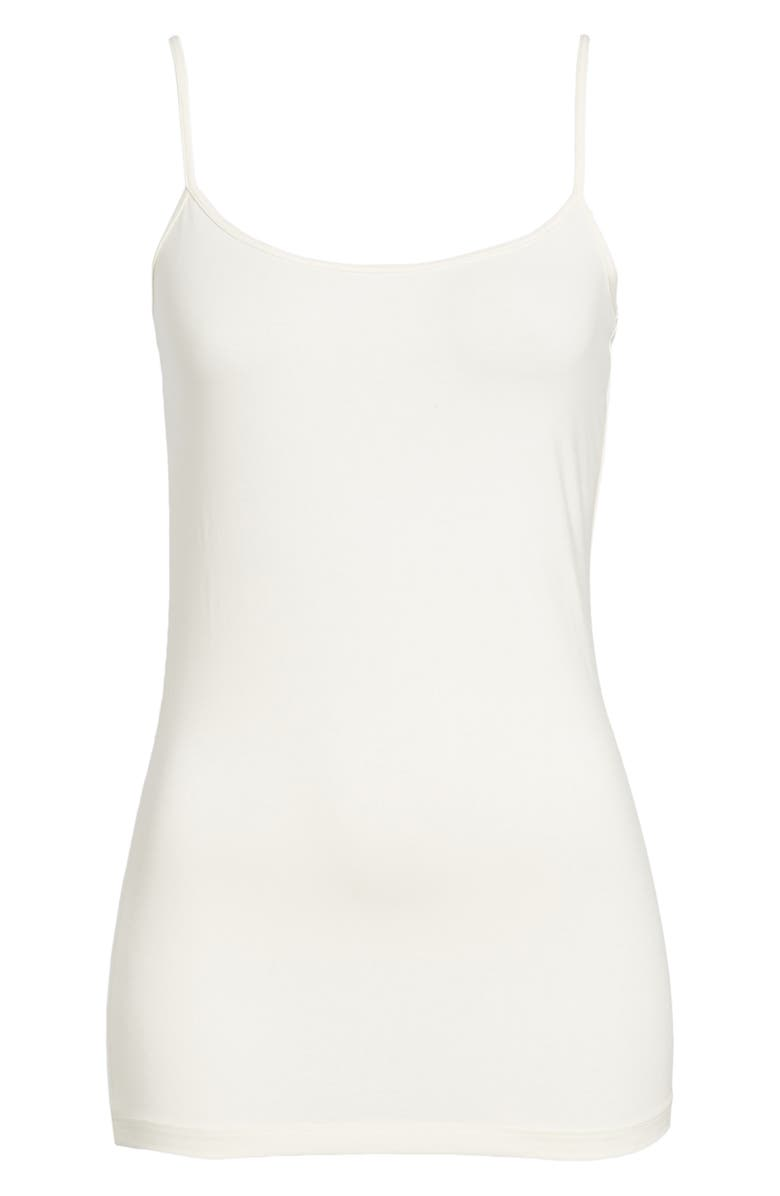 HALOGEN<SUP>®</SUP> 'Absolute' Camisole, Main, color, IVORY EGRET