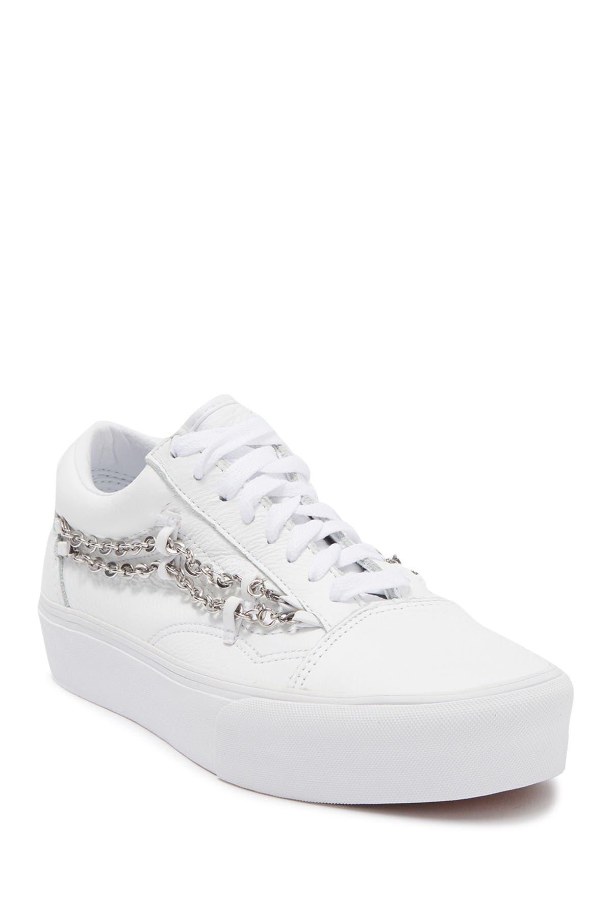 Image of VANS Old Skool Chain Flatform Sneaker