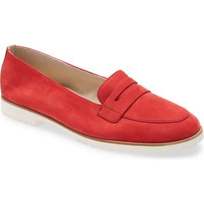 Paul Green Carmela Penny Loafer, .5UK - Red