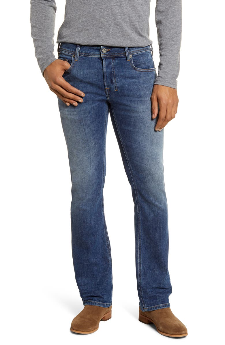 DIESEL<SUP>®</SUP> Zatiny Bootcut Jeans, Main, color, 0096E