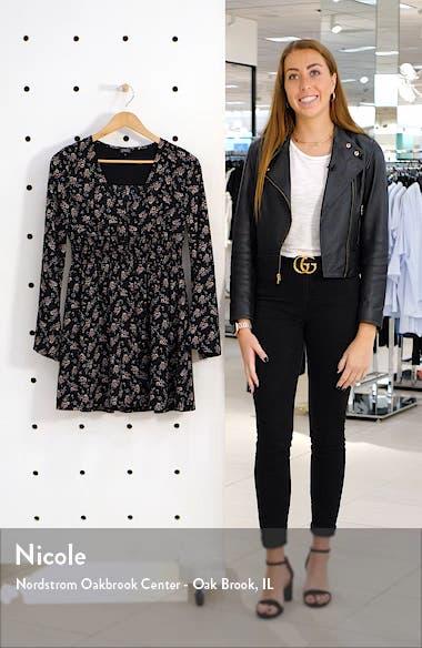 Holland Long Sleeve Minidress, sales video thumbnail