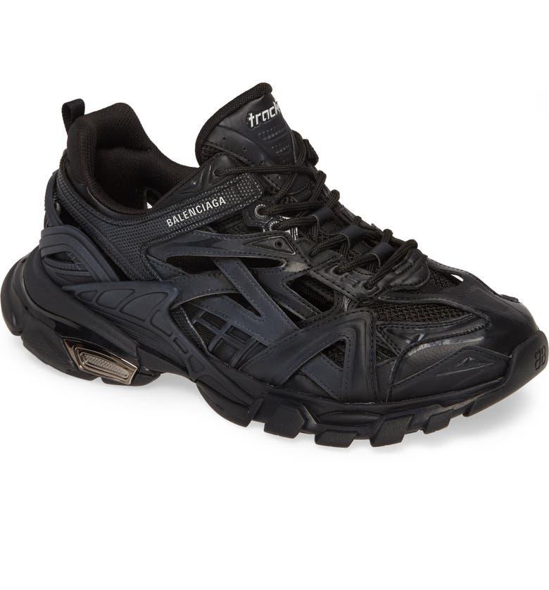 BALENCIAGA Track 2 Sneaker, Main, color, NOIR
