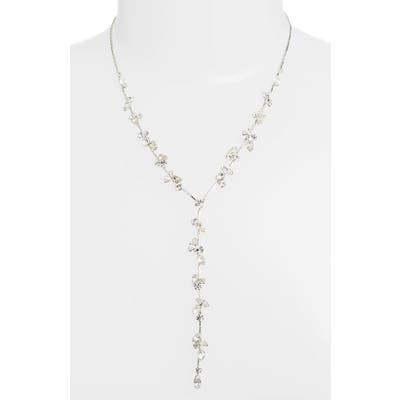 Cristabelle Multi Stone Y-Necklace