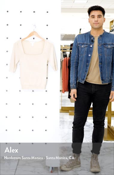 Square Neck Sweater, sales video thumbnail
