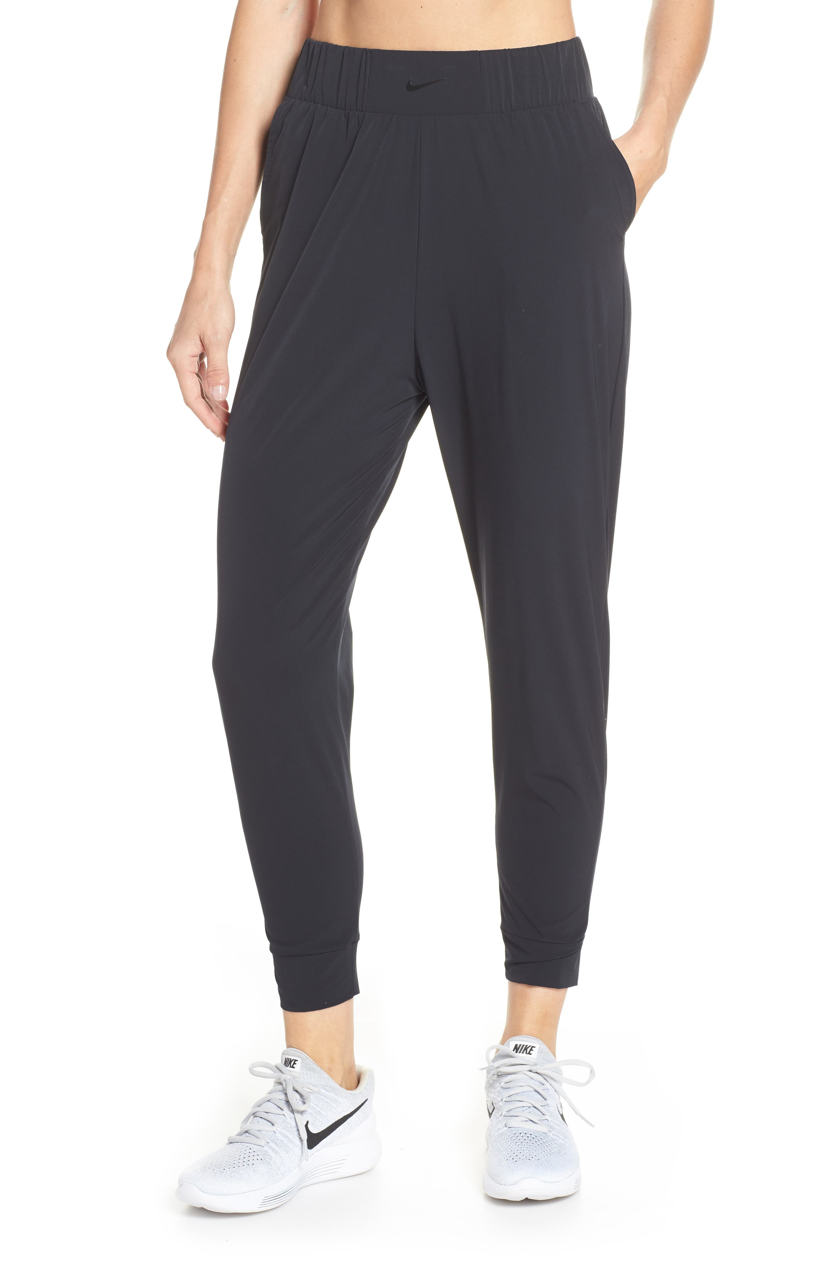 Dry Bliss Pants, Main, color, BLACK/ CLEAR