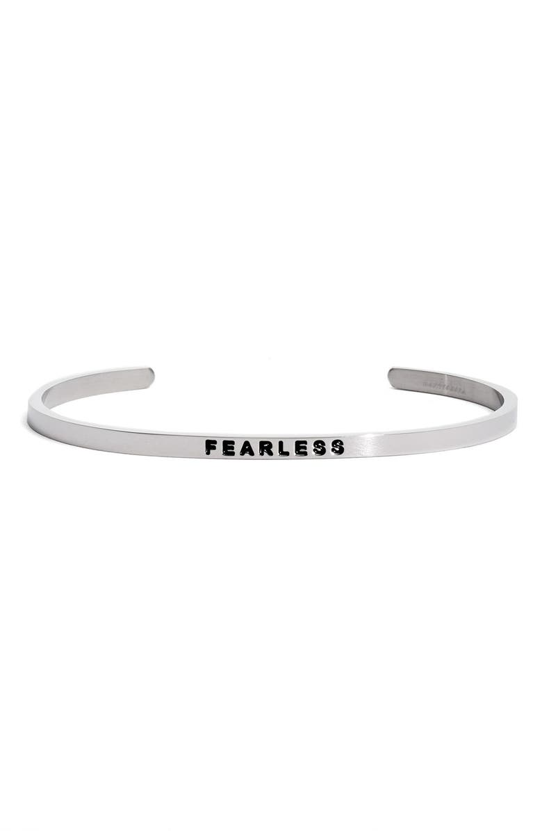 MANTRABAND<SUP>®</SUP> 'Fearless' Cuff, Main, color, 040