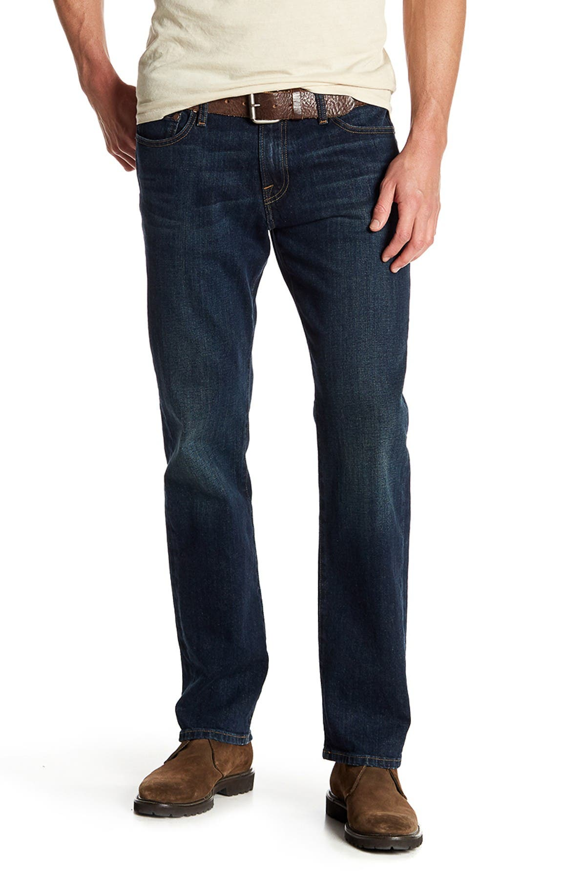 "Image of Lucky Brand 221 Original Straight Leg Jeans - 30-34"" Inseam"