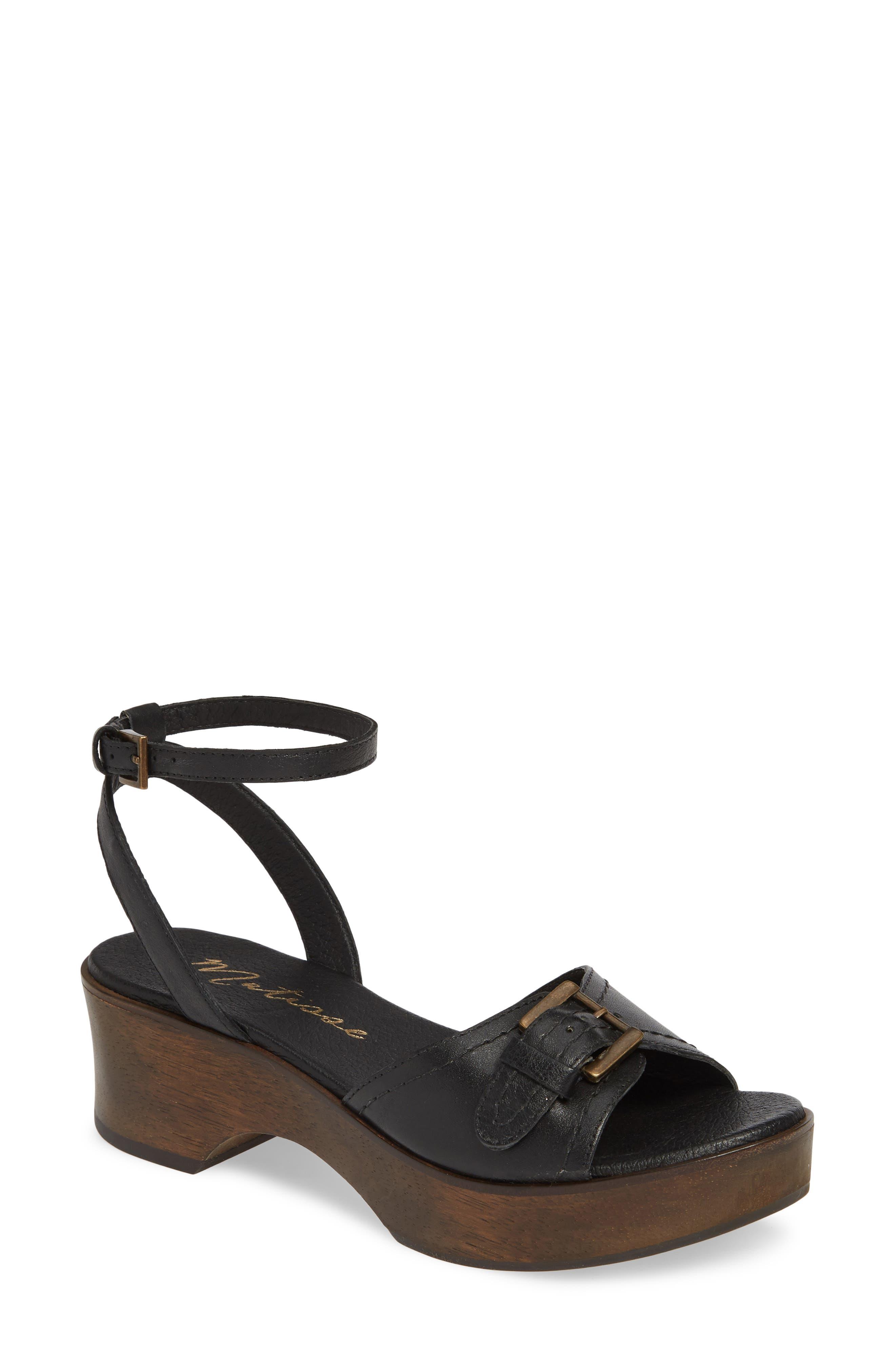 Matisse Dutch Sandal, Black