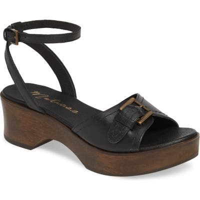 Matisse Dutch Sandal, Black