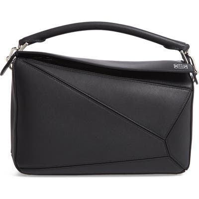 Loewe Puzzle Medium Bag - Black