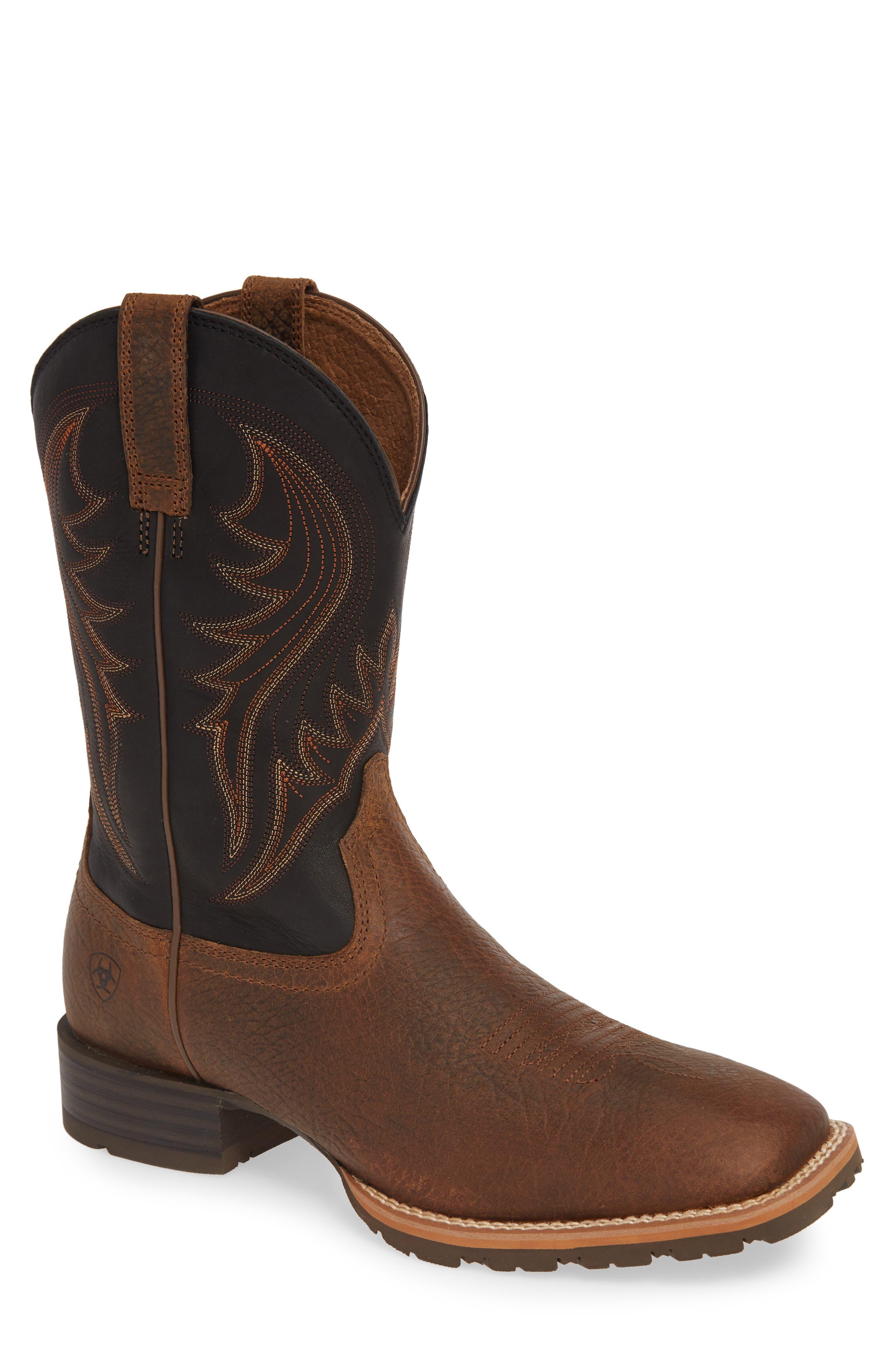 Ariat Hybrid Rancher Cowboy Boot- Brown