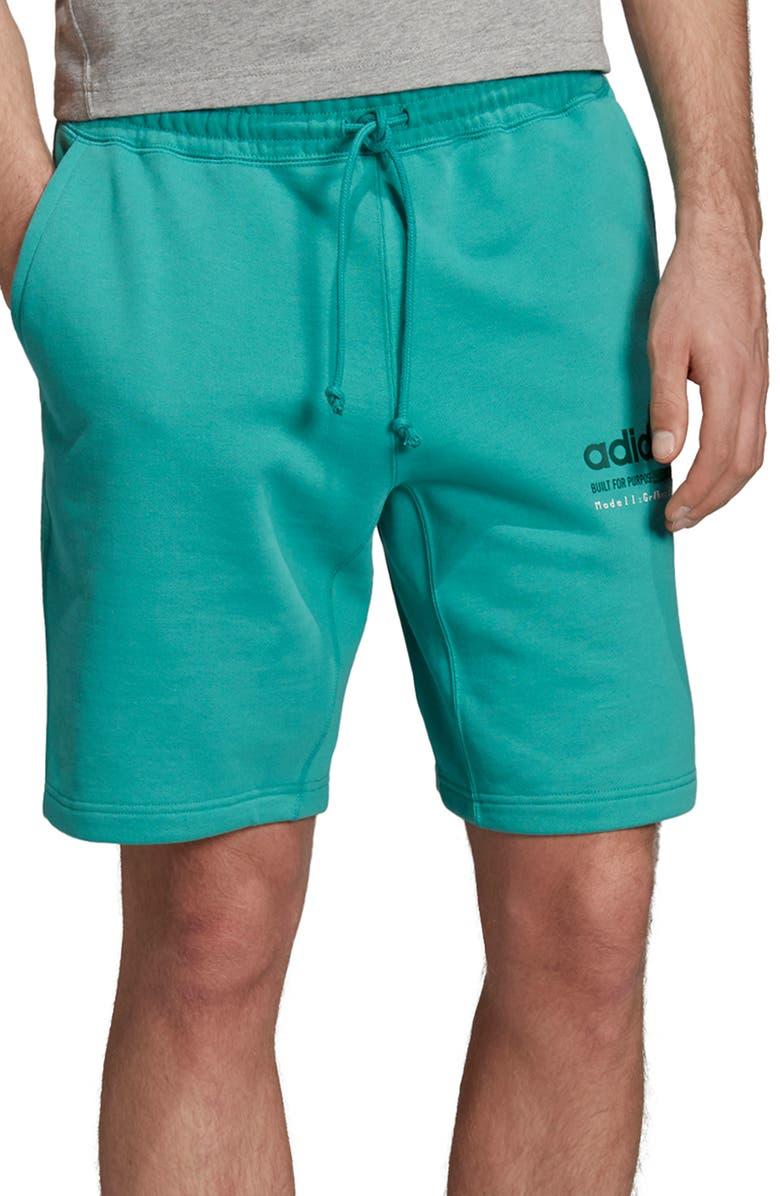 ADIDAS ORIGINALS Kaval Trefoil Shorts, Main, color, 333