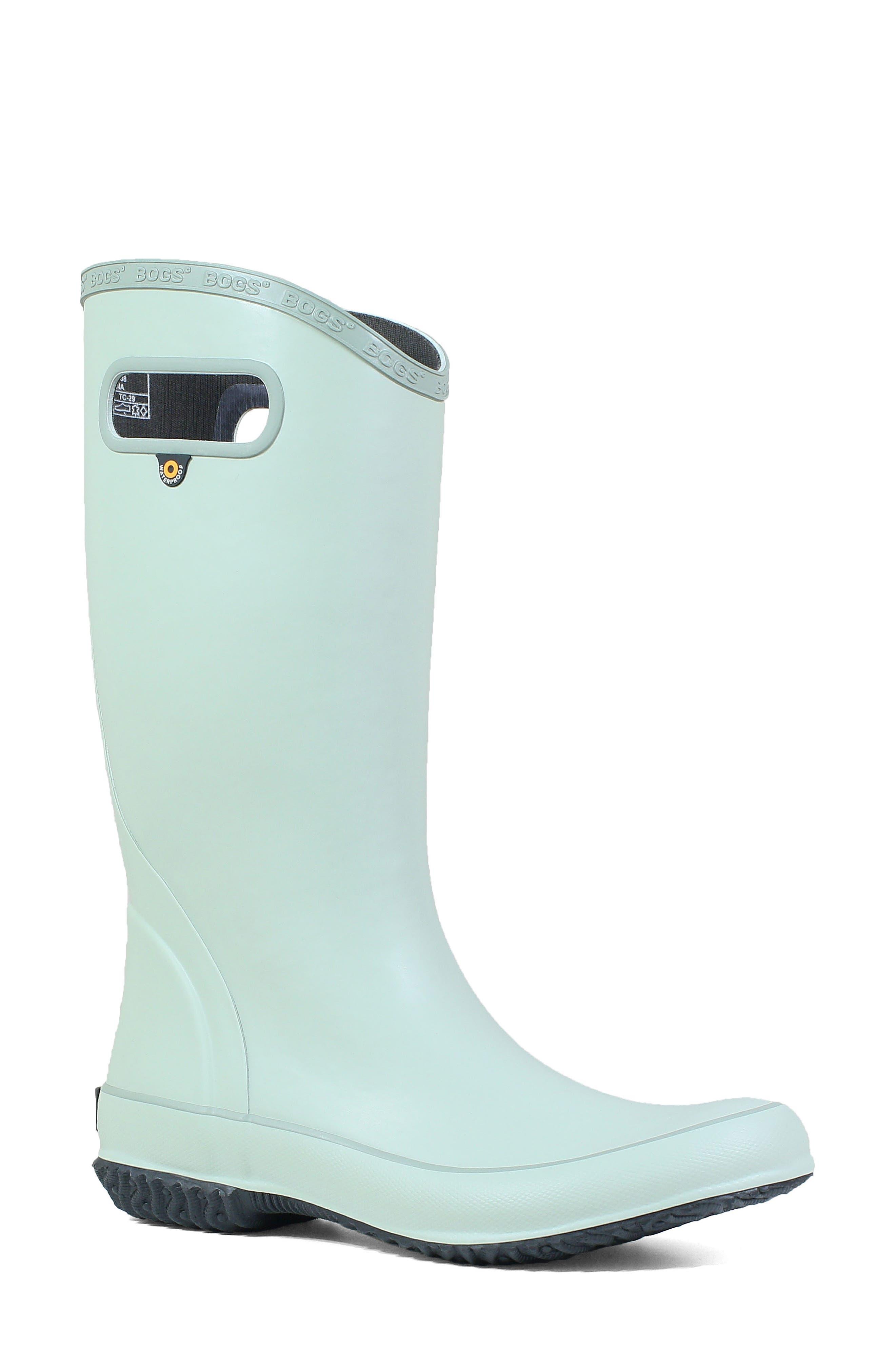 Bogs Classic Tall Waterproof Rain Boot, Green
