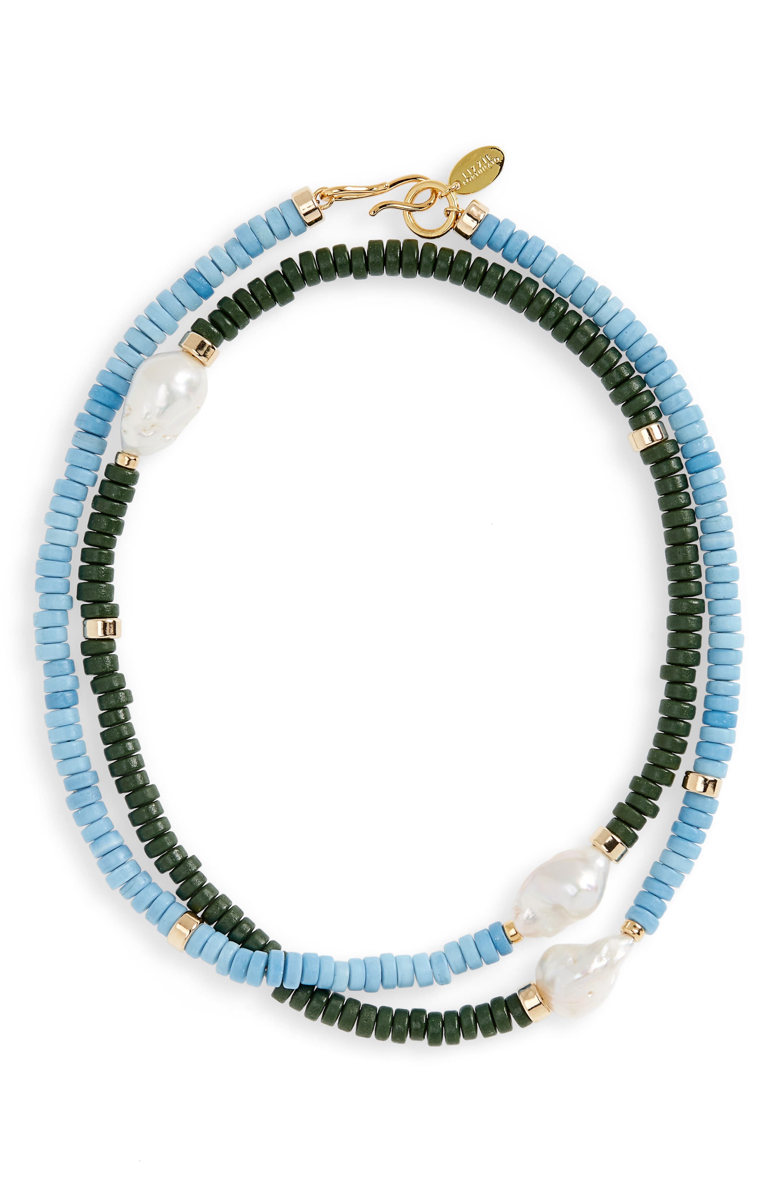 Color Field Freshwater Pearl Necklace