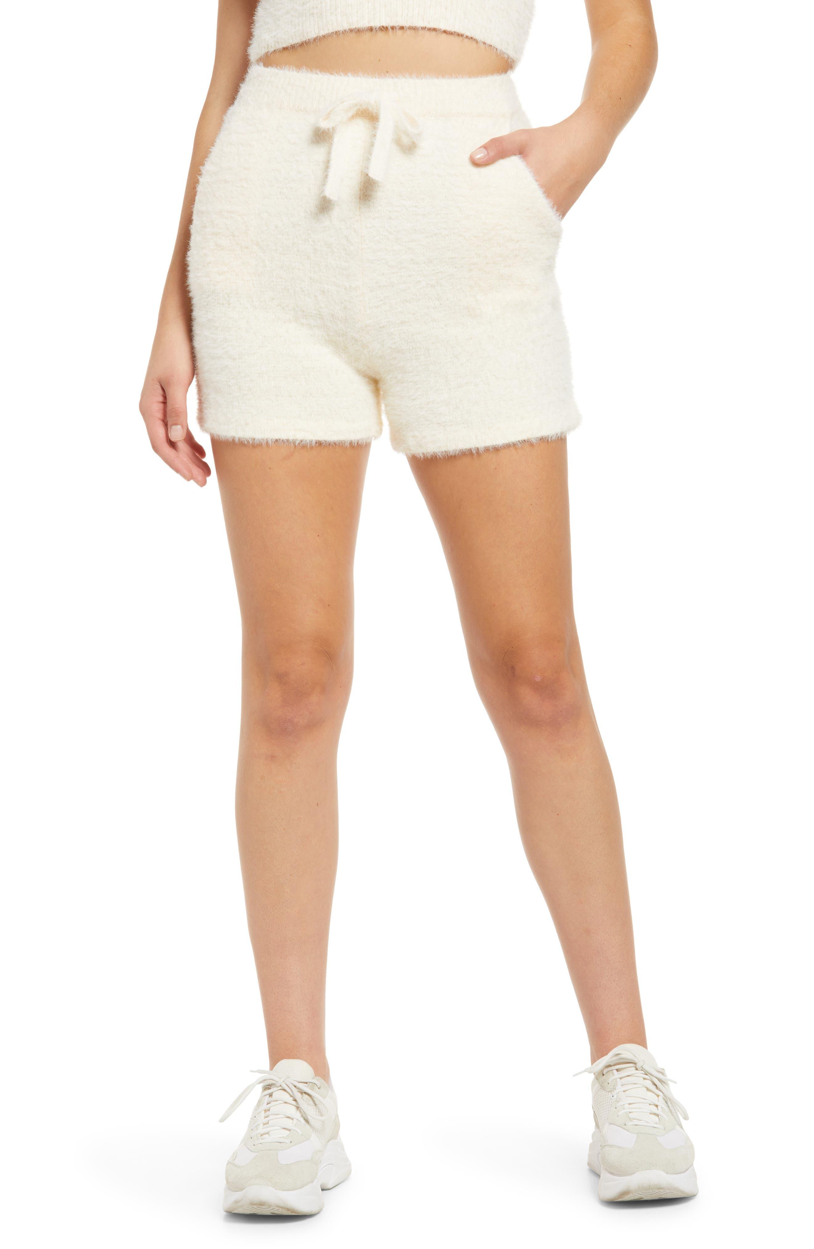Women's Kendall + Kylie Eyelash Knit Shorts