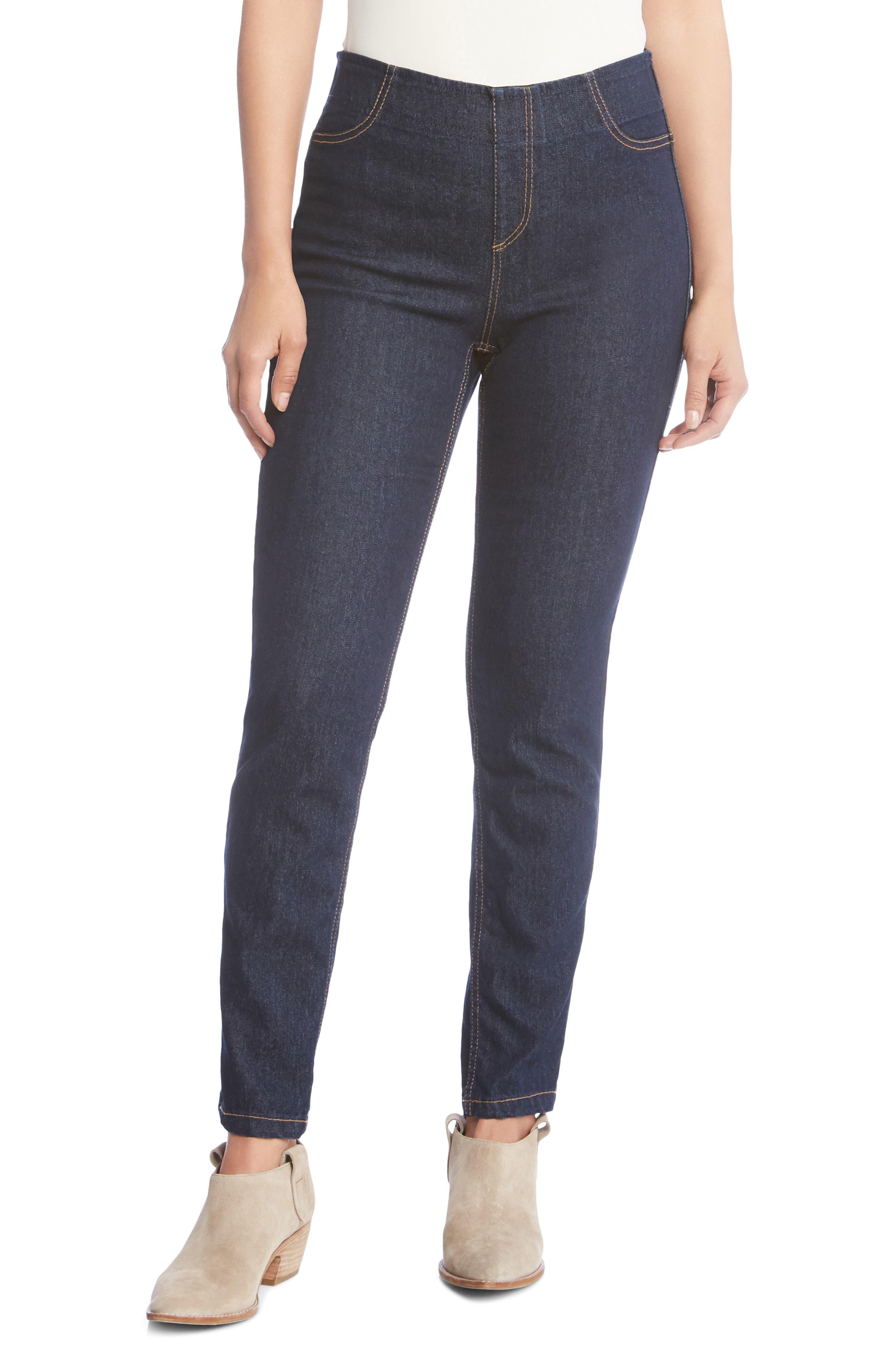 Women's Karen Kane Terra High Waist Skinny Jeans
