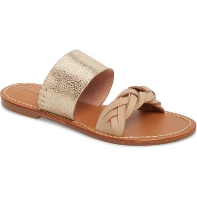 Soludos Slide Sandal, Brown