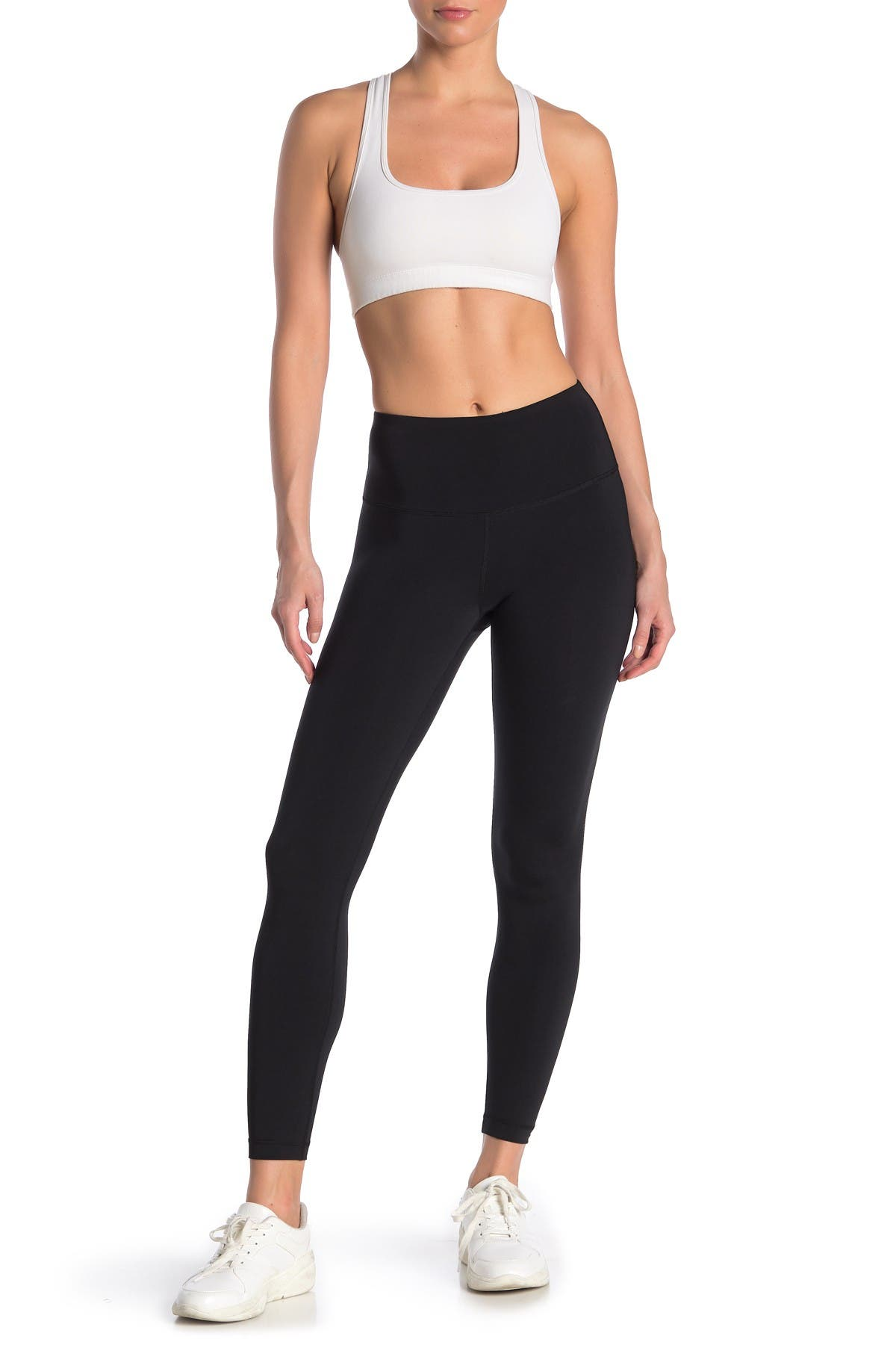 Image of 90 Degree By Reflex Missy Interlink High Waist Ankle Leggings