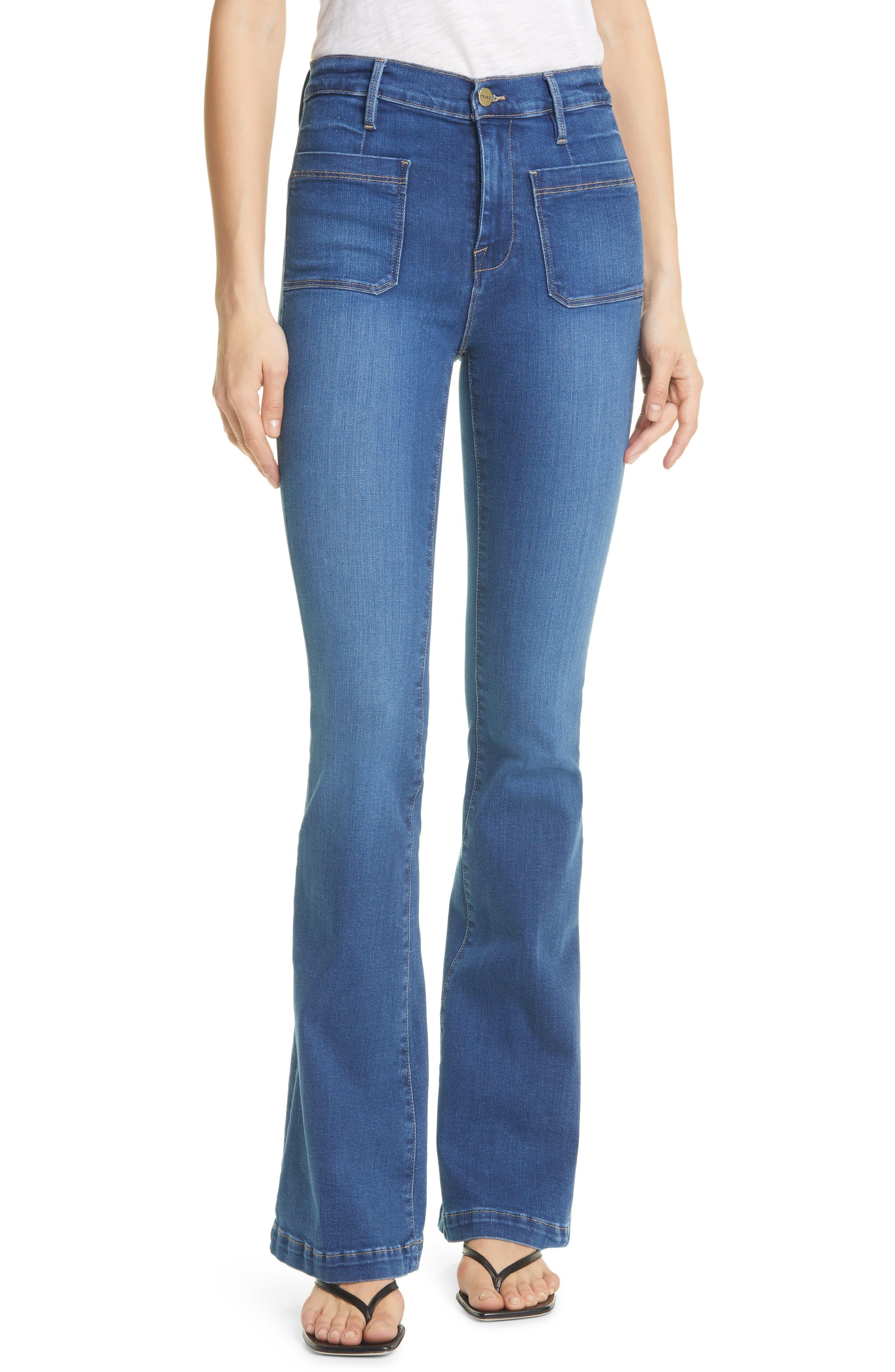 Women's Frame Le Bardot Flare Jeans