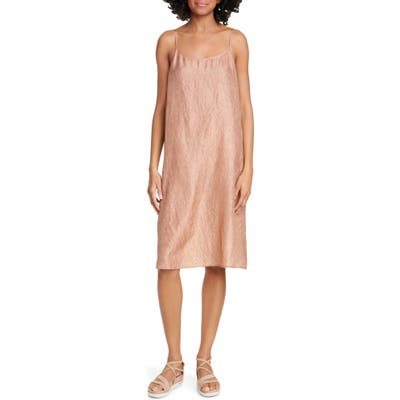 Eileen Fisher Silk Slipdress, Beige