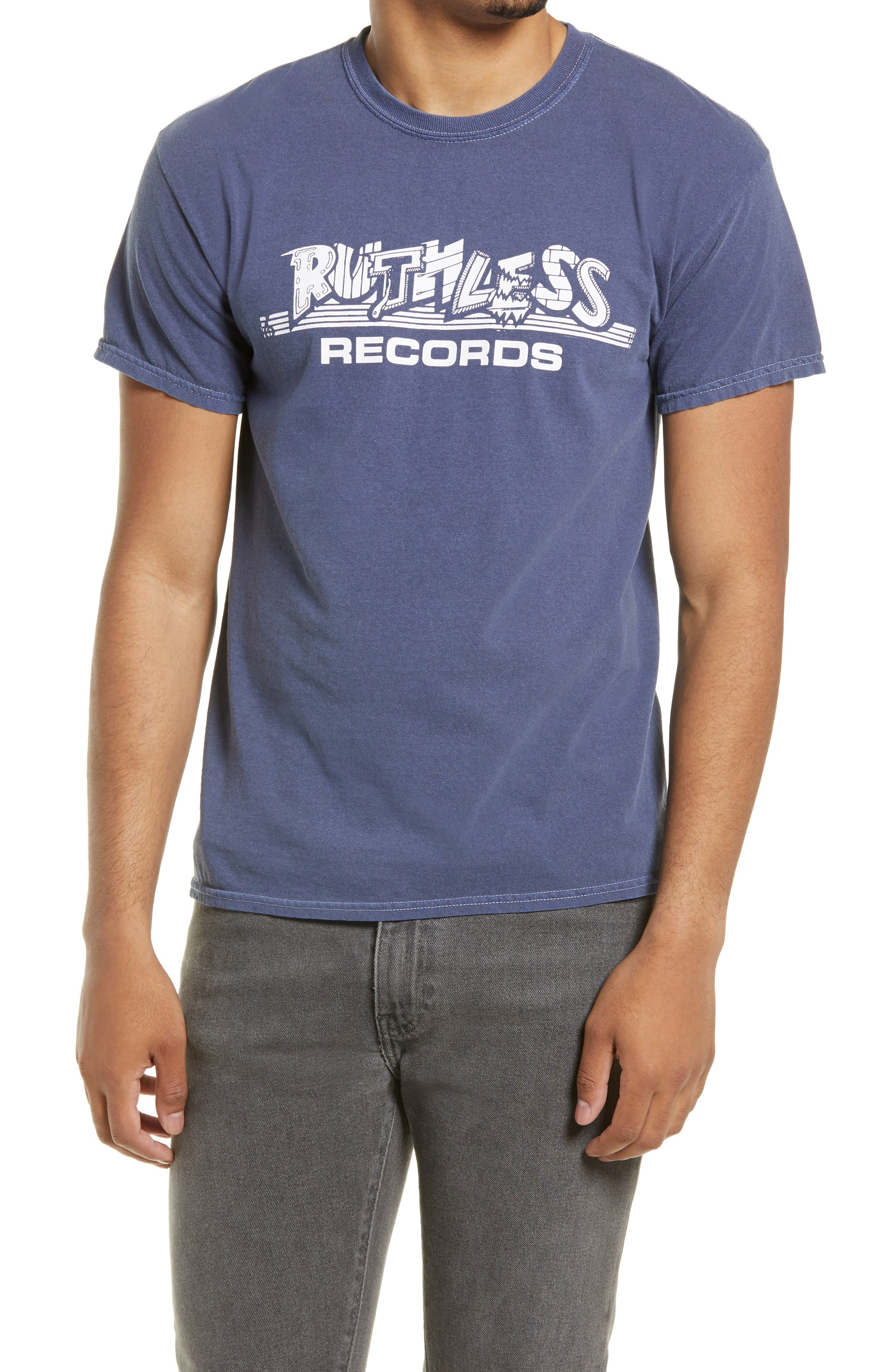 Ruthless Records Logo Graphic Tee