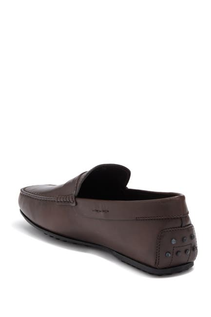 Image of Tod's Leather Penny Driving Loafer