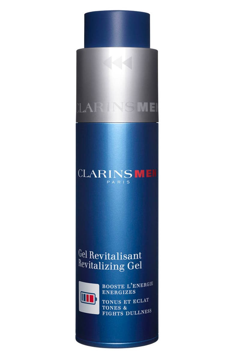 CLARINS Men Revitalizing Gel Moisturizer, Main, color, NO COLOR