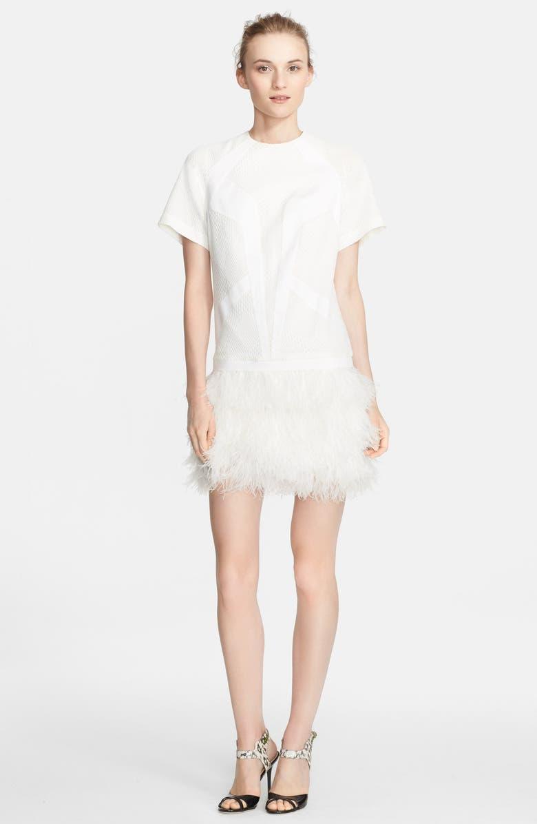 d3c2565650 Robert Rodriguez Feather Skirt Drop Waist Dress | Nordstrom