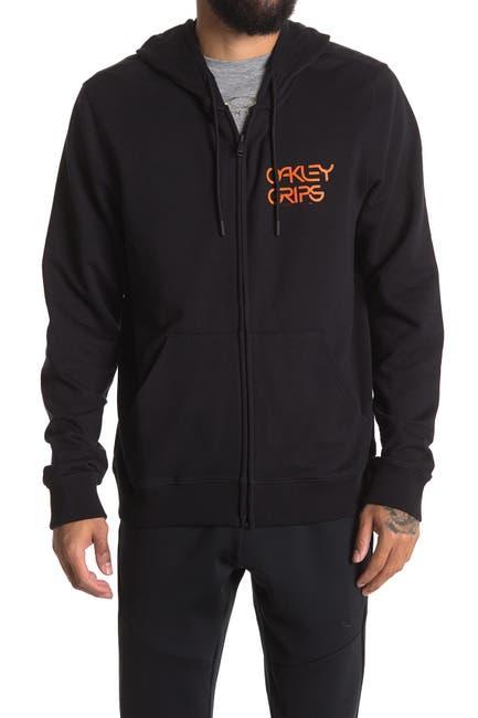 Image of Oakley Grips Logo Full Zip Hoodie