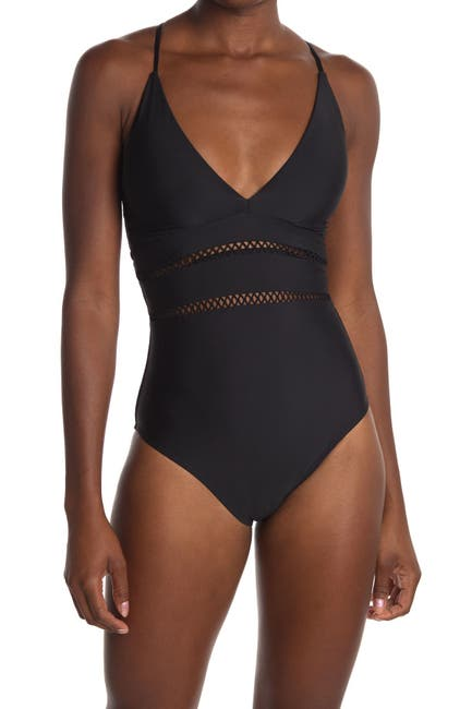 Image of Athena Solid One Piece Swimsuit