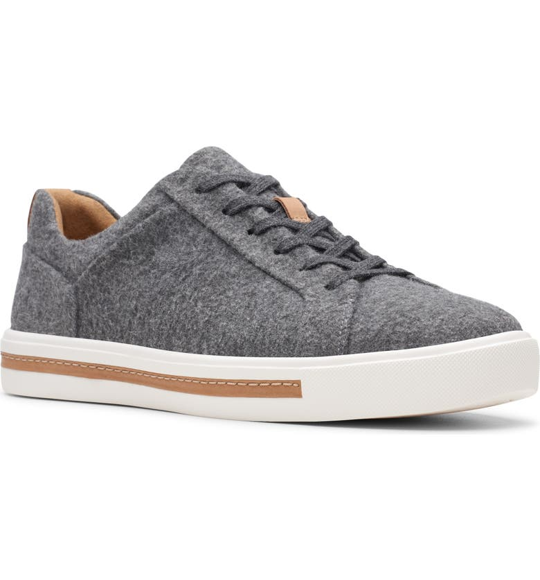 CLARKS<SUP>®</SUP> Un Maui Sneaker, Main, color, GREY FABRIC