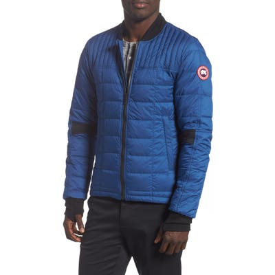 Canada Goose Dunham Slim Fit Packable Down Jacket, Blue