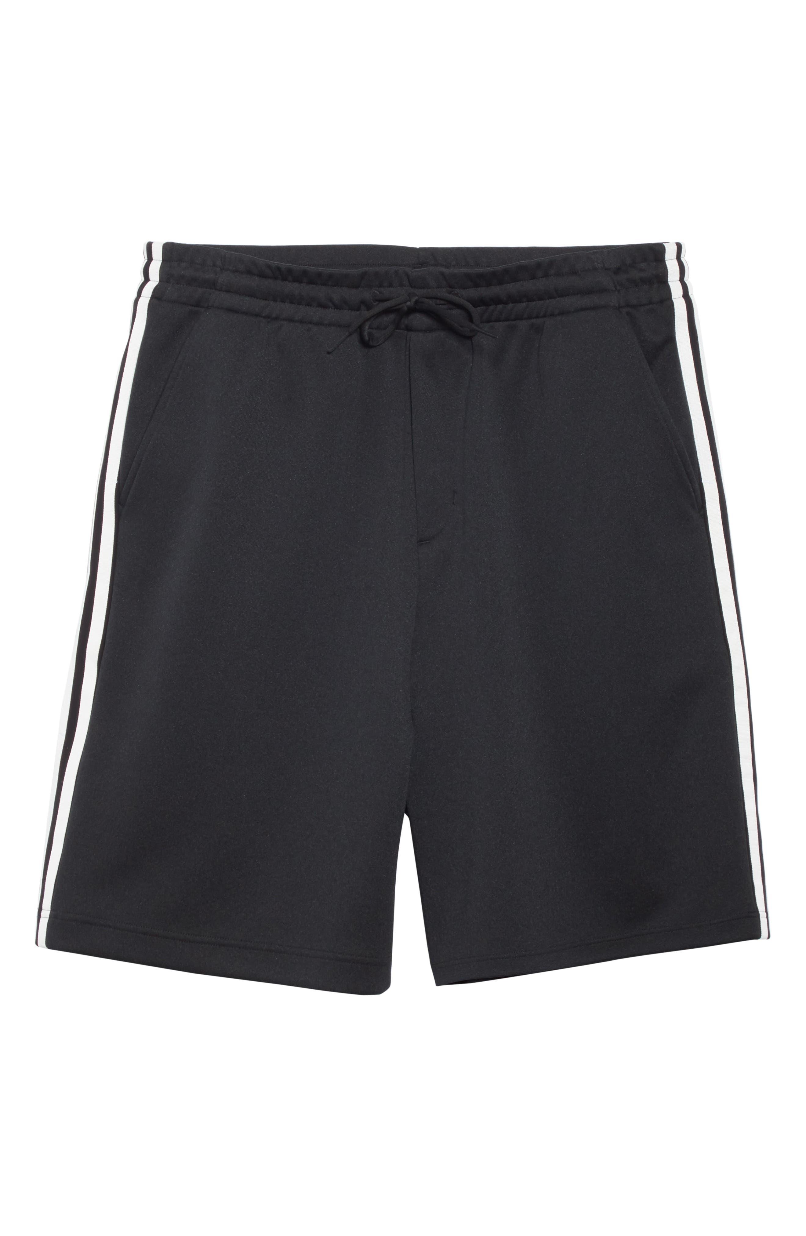 ,                             Stripe Shorts,                             Alternate thumbnail 6, color,                             BLACK