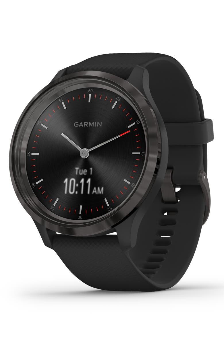 GARMIN vívomove<sup>®</sup> 3 Hybrid Smartwatch, 44mm, Main, color, 001