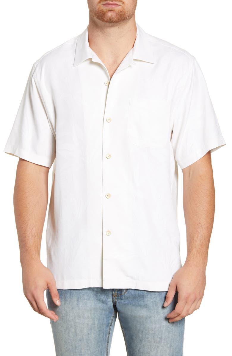 TOMMY BAHAMA Al Fresco Tropics Classic Fit Silk Shirt, Main, color, CONTINENTAL
