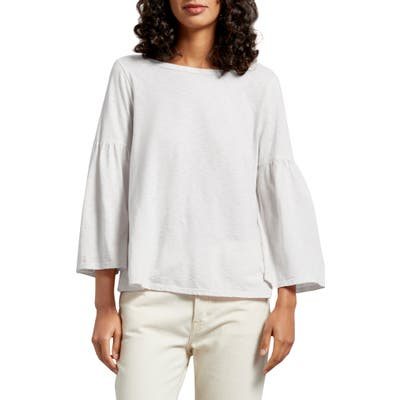 Michael Stars Bell Sleeve Tee, Size One Size - White
