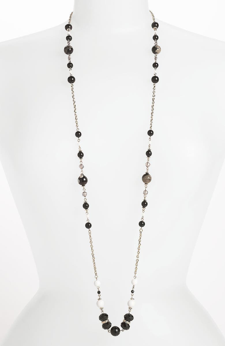 SEQUIN 'Holiday Hockney' Long Station Necklace, Main, color, 001