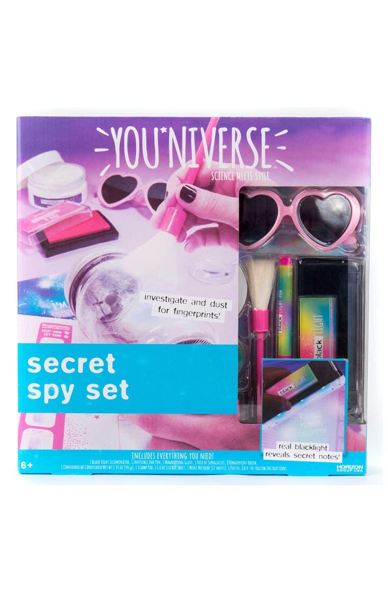 YOU*NIVERSE Secret Spy Kit, Main, color, MULTI