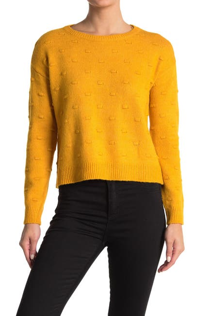 Image of By Design Full Circle Bobble Knit Sweater
