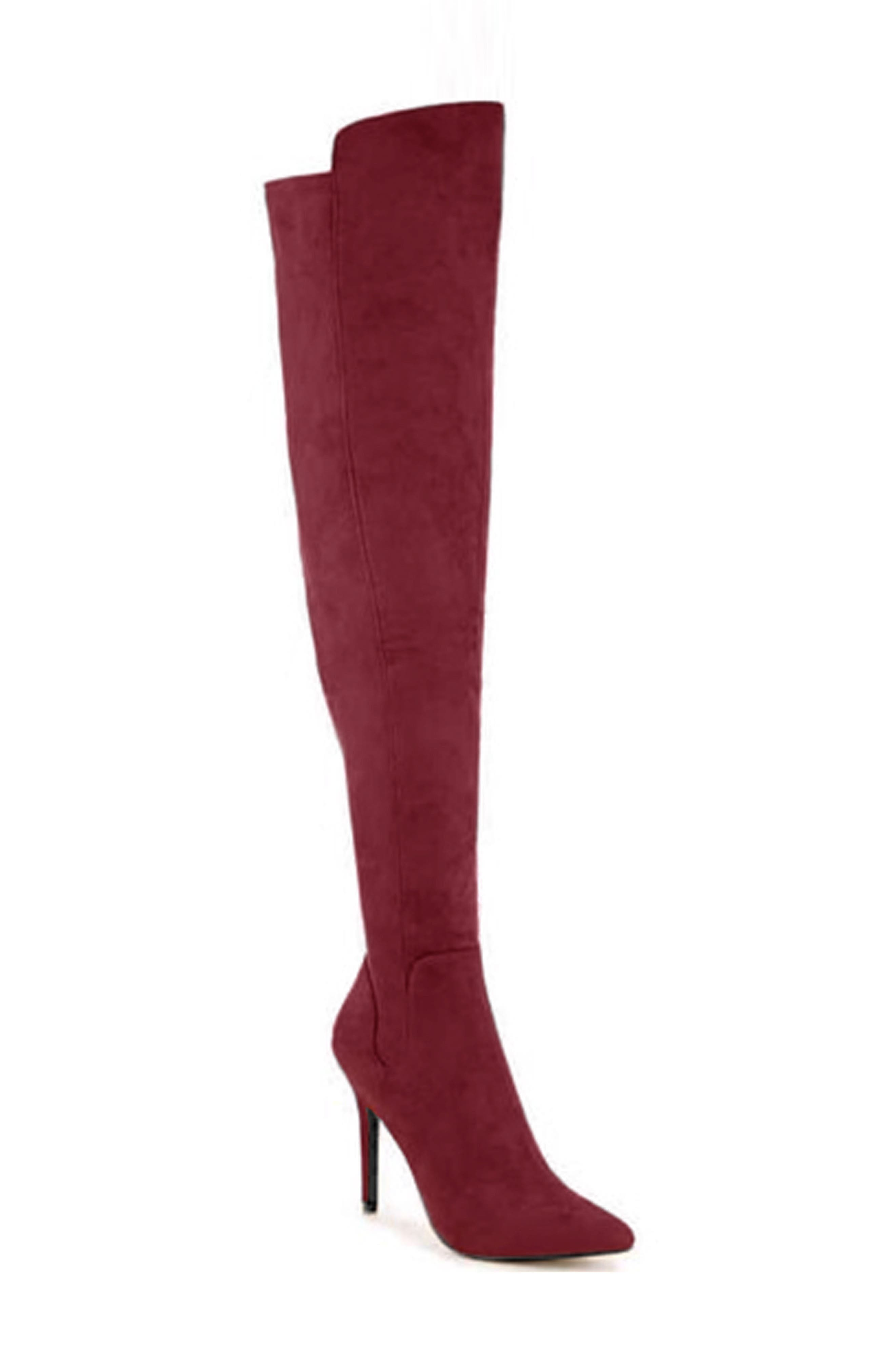 Heighten the drama of your date-night look with this suave over-the-knee boot complete with a pointy toe and stiletto heel. Style Name: Charles By Charles David Penalty Over The Knee Boot (Women). Style Number: 6053613. Available in stores.