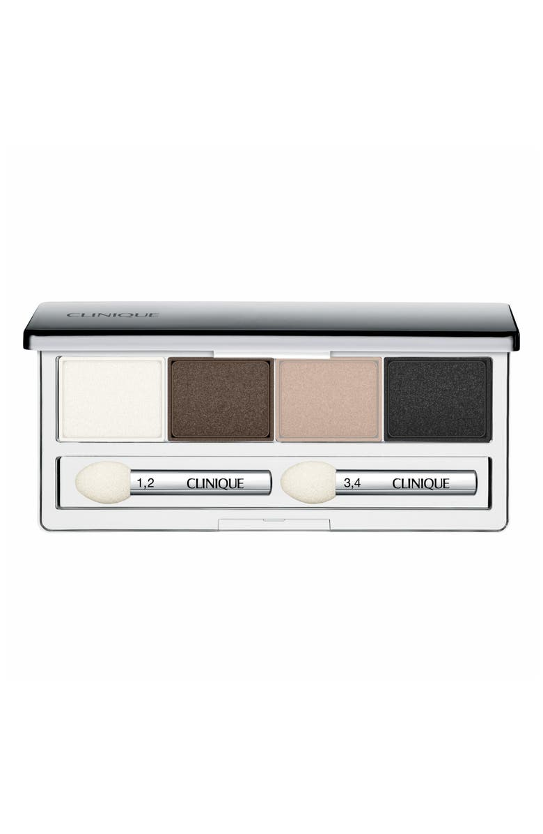 CLINIQUE All About Shadow Eyeshadow Quad, Main, color, 203